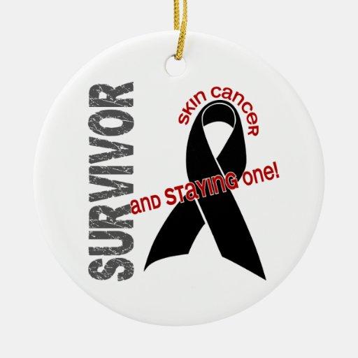Skin Cancer Survivor 1 Ornament