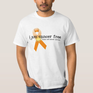 Skin Cancer Survivor D7 :: I am Cancer Free T-Shirt