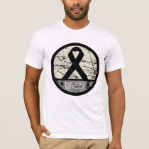 Skin Cancer Survivor Mens Vintage T-Shirt