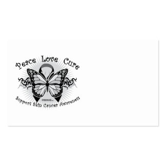 Skin Cancer Tribal Butterfly Business Card Template