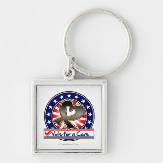 Skin Cancer Vote For a Cure Keychain