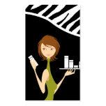 Skin Care Face Care Vector Shop Girl Business Card