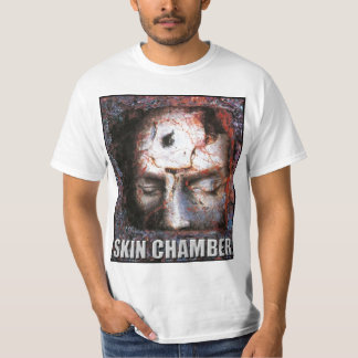 "Skin Chamber ""Trial"" (White Shirt) T Shirt"