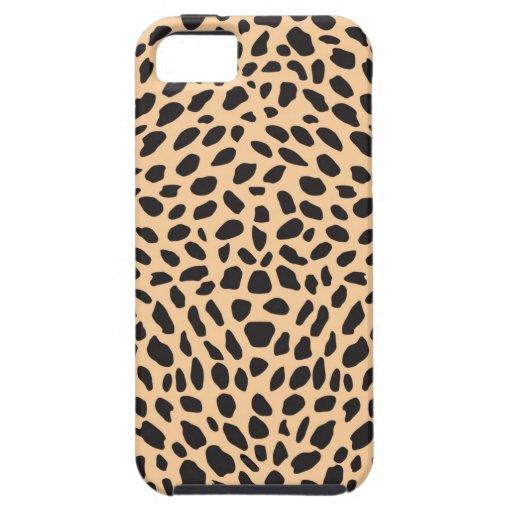 Skin cheetah decor iPhone 5 cover