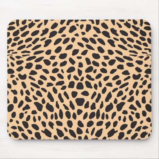 Skin cheetah decor mouse pads