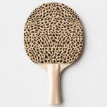 Skin cheetah decor Ping-Pong paddle