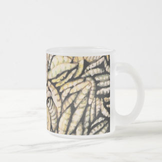 """Skin Deep"" Fine Art Products Frosted Glass Coffee Mug"