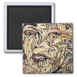 """Skin Deep"" Fine Art Products Fridge Magnets"