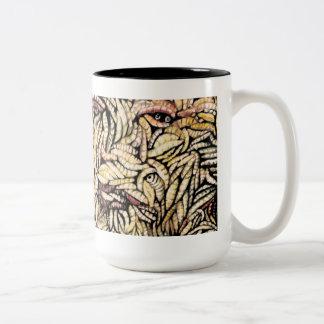 """Skin Deep"" Fine Art Products Two-Tone Coffee Mug"