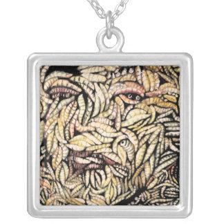 Skin Deep, Grotesque Fine Art Necklace Pendant