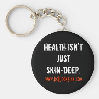 Skin-Deep Keychain