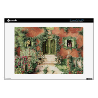 """skin for laptop of Tuscan Villa Decals For 13"""" Laptops"""