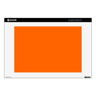 """Skin laptop orange decal for 13"""" laptop"""