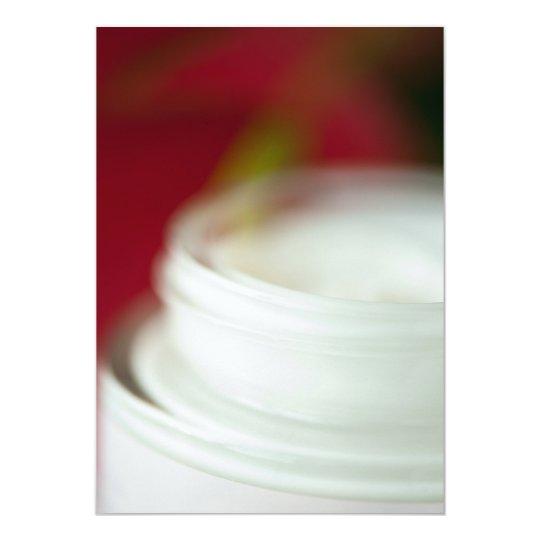 Skin nourishing cream card