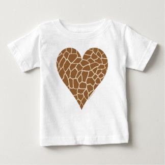 Skin Pattern, Colors of the Giraffe Baby T-Shirt
