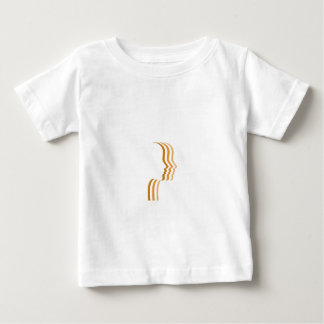 Skin tanning graphic infant t-shirt