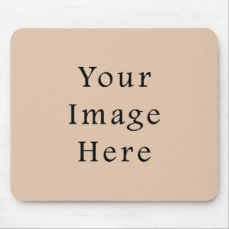 Skin Tone Sand Neutral Color Trend Blank Template Mouse Pad