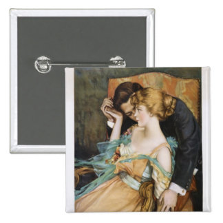 Skin You Love to Touch Mary Greene Blumenschein 2 Inch Square Button