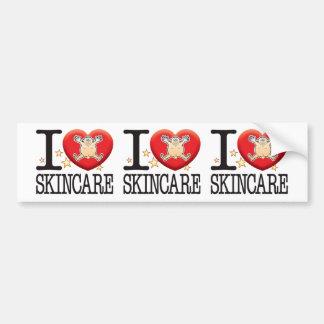 Skincare Love Man Car Bumper Sticker