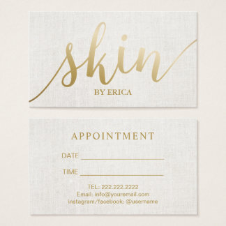 Esthetician business cards aesthetician business cards template elegant salon spa business cards templates zazzle esthetician business card templates reheart Image collections