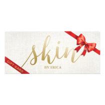 Skincare Salon Spa Esthetician Gift Certificates