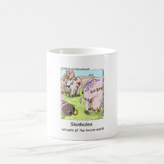 SkinHides Cow Outcasts Funny Tees Mugs Etc