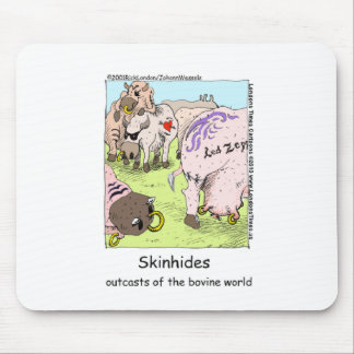 SkinHides Cow Outcasts Funny Tees Mugs Etc Mouse Pad
