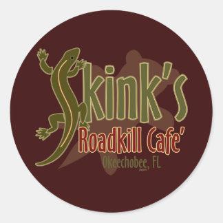 Skink's Roadkill Café Classic Round Sticker