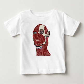 Skinned Head version two Baby T-Shirt