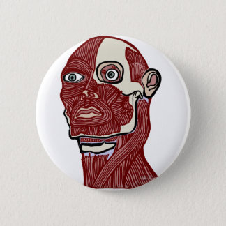Skinned Head version two Button