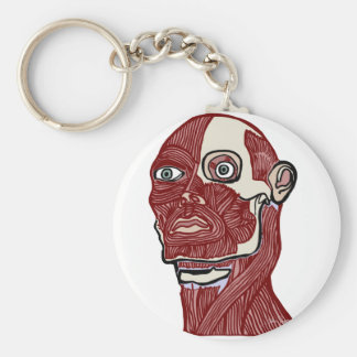 Skinned Head version two Keychain