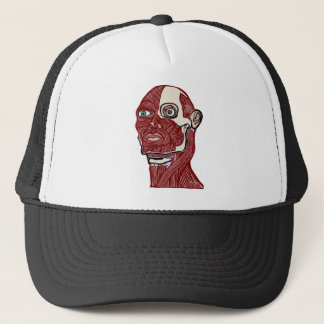 Skinned Head version two Trucker Hat