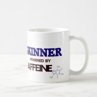Skinner accionó por el cafeína taza básica blanca