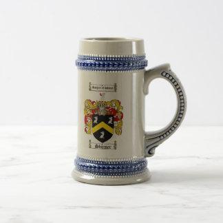 Skinner Coat of Arms Stein