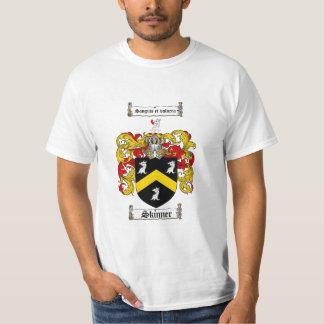 Skinner Family Crest - Skinner Coat of Arms Tee Shirt
