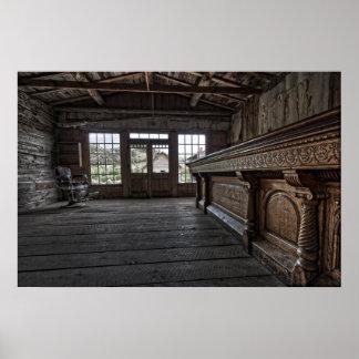 Skinner's Saloon -- Bannack Ghost Town Montana Poster