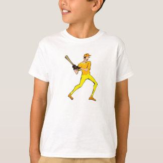 skinny ball player T-Shirt
