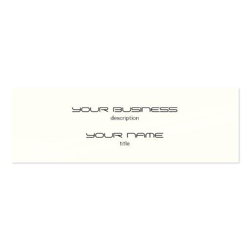 Skinny Business Card Luxury Excutive Indestructibl