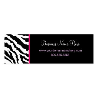 Skinny Business Card Template **Bold