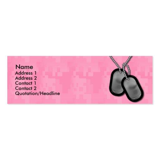 Camo business card templates page3 bizcardstudio skinny card lady camo business cards colourmoves