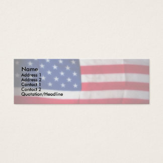 Skinny Card Patriotic