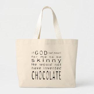Skinny Chocolate Bag