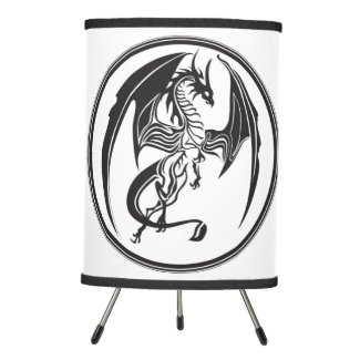 Skinny dragons... tripod lamp