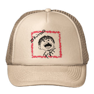skinny fat series trucker hat