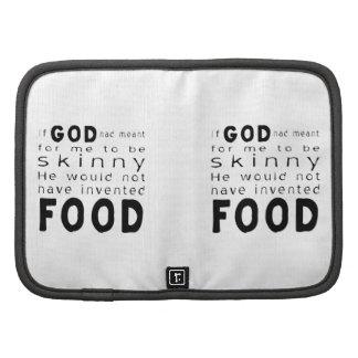 Skinny Food Planners