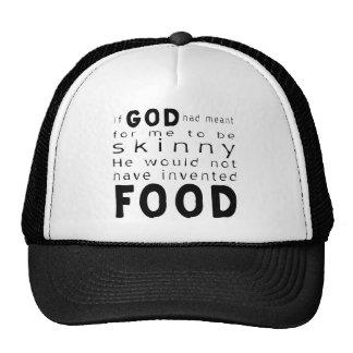 Skinny Food Trucker Hat