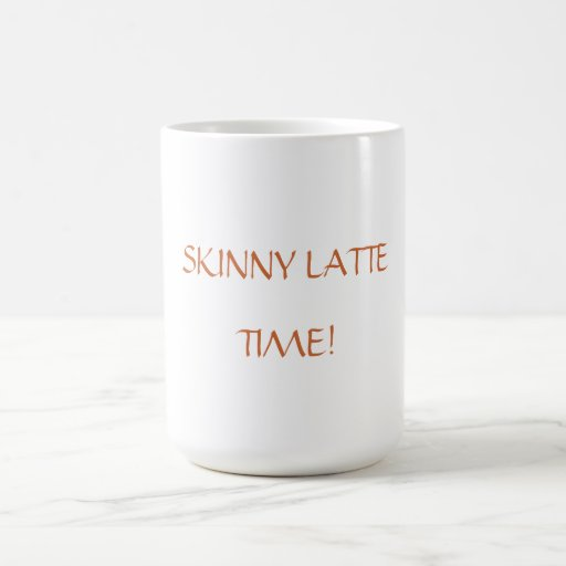 Skinny Latte Mug