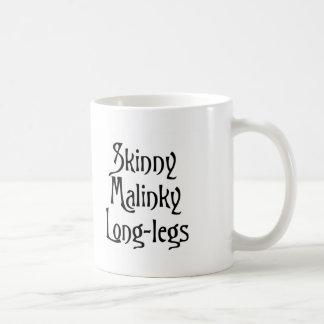 Skinny Malinky Longlegs Classic White Coffee Mug