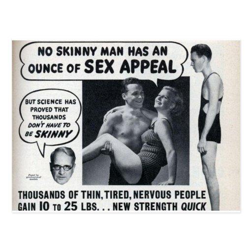 Skinny Men Post Card