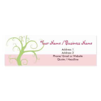 Skinny Mini Modern Tree Calling / Business Card